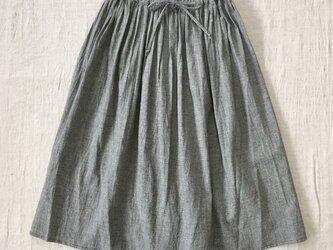 千鳥柄ギャザースカートの画像