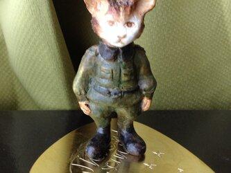 猫の兵士の画像