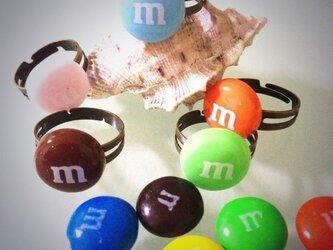 M&M RING 指輪の画像