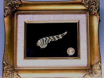 ブローチ「天使の翼」の画像