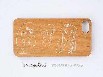 【天然木 iPhoneケース】「GIRLS' POWER」WOOD スマートフォンケースの画像