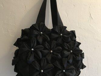 着物で作る*トートバッグの画像