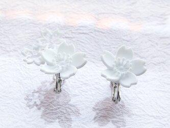 さくら咲くS-mini・イヤリングの画像
