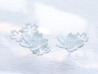 さくら咲くmini・ピアスの画像