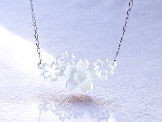さくら咲く・ネックレスの画像