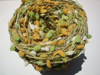 黄緑ポコポコ糸の画像