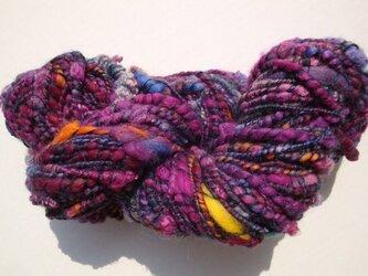 パープル時々オレンジ糸の画像
