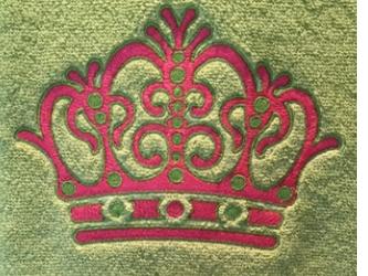 Big Crownのタッセル付きタオルの画像