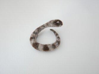 蛇 ブローチCの画像