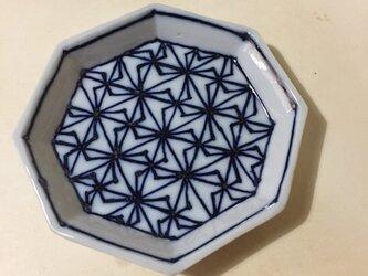 Z212 磁器染付八角小皿の画像