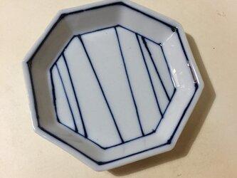 Z211 磁器染付八角小皿の画像