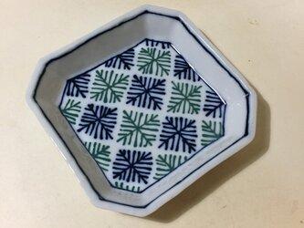 Z226 磁器染付角小皿の画像