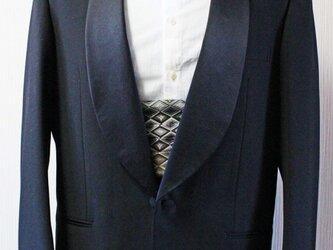 博多織カマーベルト フォーマル 礼装 パープル ゴールド マルチカラー ブラック(KM-16)の画像
