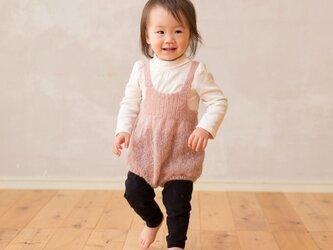 baby ふわふわロンパース 〜pink〜の画像