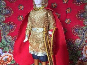 騎士のロシア人形1の画像