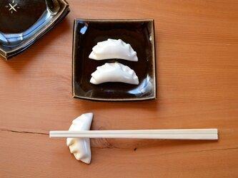 小・餃子のはしおき(鈴付き)の画像