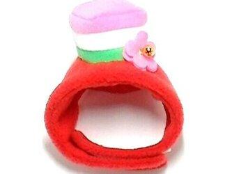 菱餅の帽子【S/M/L】の画像