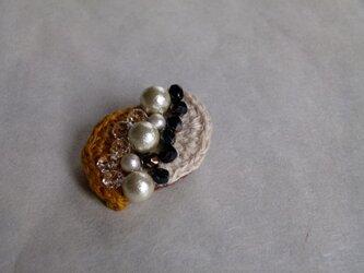 ブローチ*cotton pearlⅡの画像