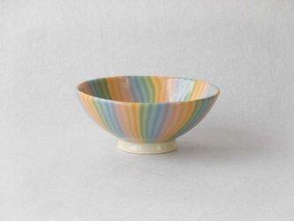 練り込み 虹のお茶碗 CN-1 の画像