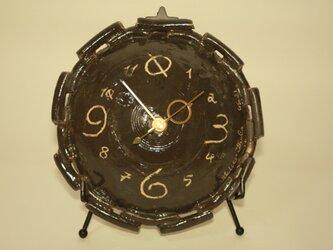 時計(置時計/掛時計) 陶器製 [CGC21]の画像