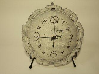 時計(置時計/掛時計) 陶器製 [CGC16]の画像