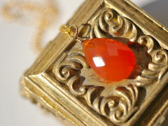 大粒Carnelian*Necklaceの画像