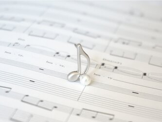 ピンブローチ 音楽隊シリーズ(音符)の画像