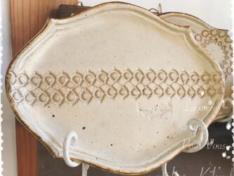Lace plate -ring line-の画像