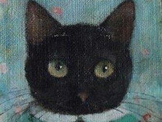 黒ねこ・ミントグリーン(Sold out)の画像