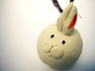 うさぎ鈴(白ウサギ)の画像