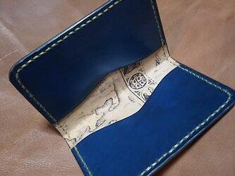 地図張りルガトのパスケースの画像