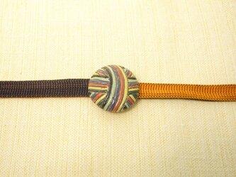帯留め(手毬)の画像