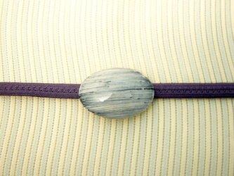 帯留め(縞)の画像
