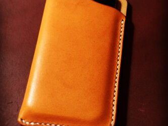 iPhoneSE用スリーブケース。の画像