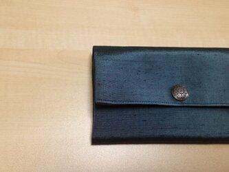 メンズ用 蛇腹カードケース 男物の着物から 壱の画像