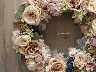 Wreath ~Antique~ 32X32cmの画像