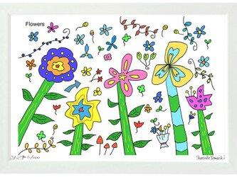 Flowers (A3frame)の画像