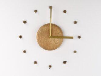 【受注生産】どんぐりの時計の画像