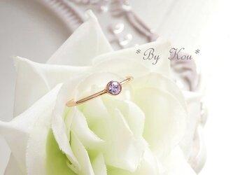ღアレキサンドライトღsimplest ring。<PG#13/受注制作>の画像