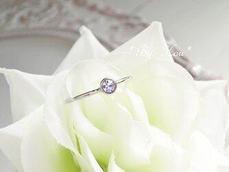 ღアレキサンドライトღsimplest ring。<SV#10/受注制作>の画像