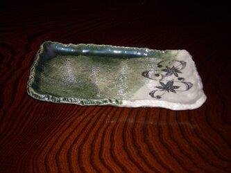 織部角皿の画像