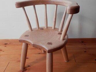小椅子 ch1111 カエデ 子ども椅子の画像