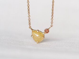 Marigold Drop Diamond necklaceの画像