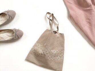 ミニバッグ[収穫]砂色×綿色の画像