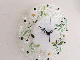 【オーダー制作】壁掛け時計(マーガレット・ホワイト)の画像