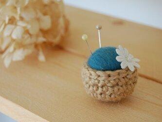 《再販》mini mini ピンクッション ブルーグリーンの画像