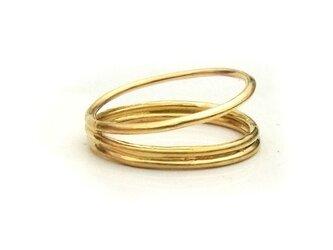 三輪(みりん)のリングの画像