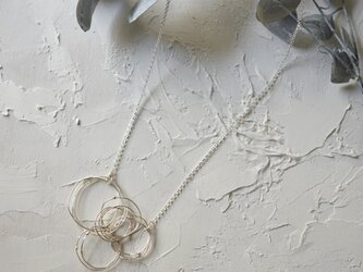 シンプルネックレス「kemuri-s」の画像