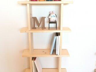 Book&DVD&インテリア雑貨シェルフの画像