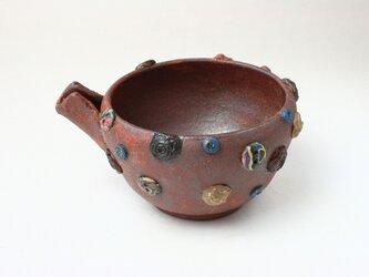 備前 /薔薇のボタンの鉢/ 片口/陶芸/ 陶器/陶芸家/ 現代陶芸/ceramic artの画像